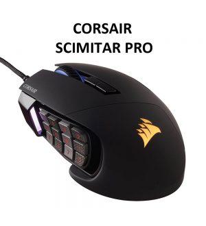 Gamging Maus Corsair Scimitar Pro RGB im Test