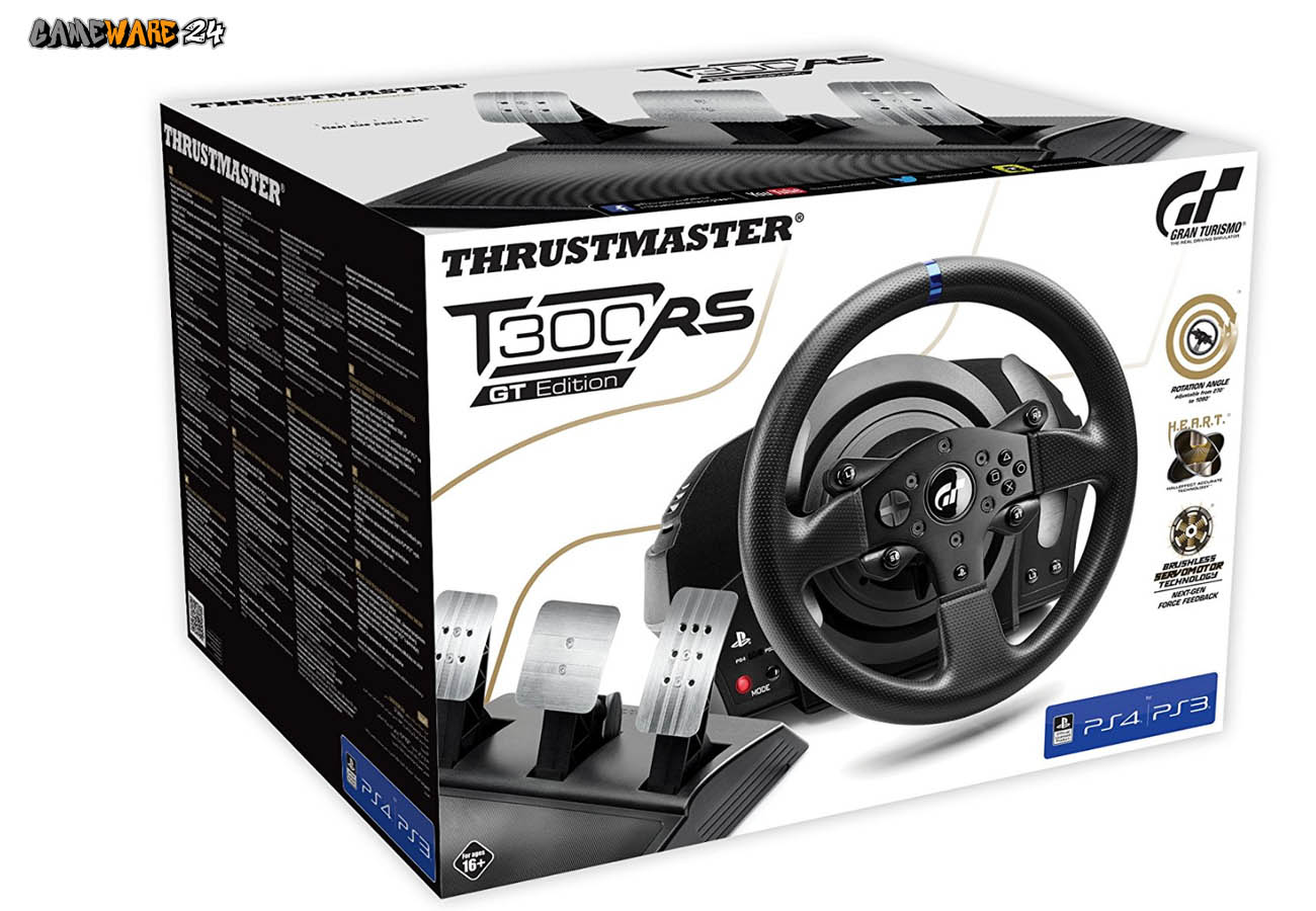 Renn-Lenkrad Thrustmaster T300 RS GT Edition mit Force Feedback