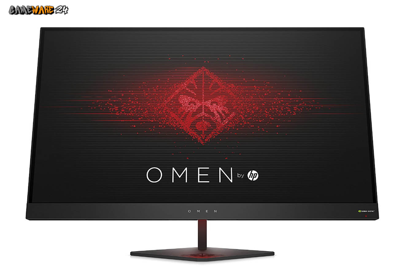 HP OMEN 27 QHD Gaming Monitor mit G-Sync