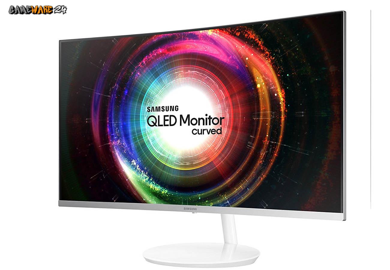 Der Samsung C32H711 Curved QLED Monitor im Test