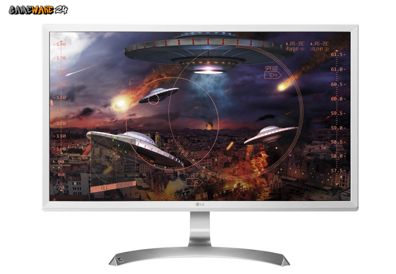 LG 27UD59 4K Monitor in 27 Zoll