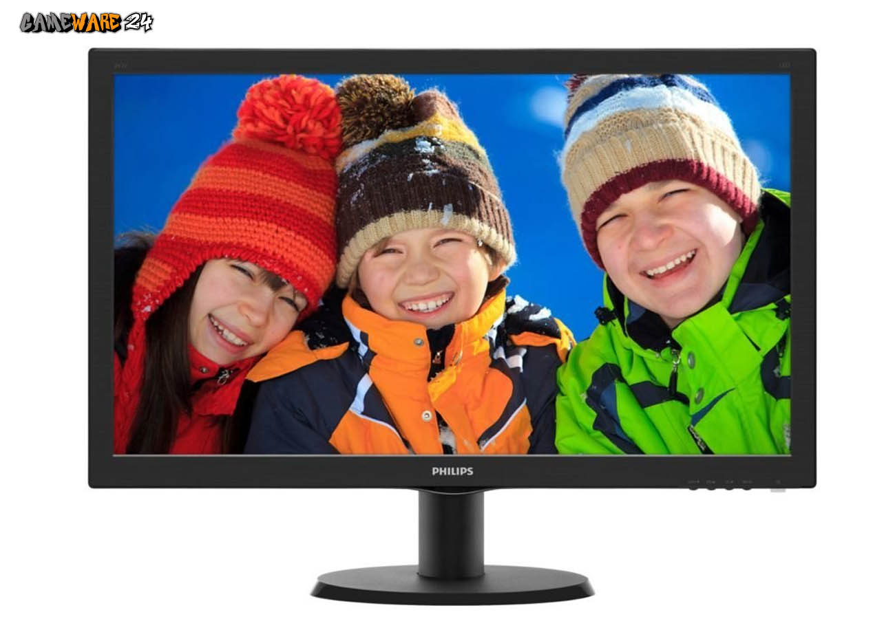Philips 243V5QHSBA 23,6 Zoll Full HD Monitor