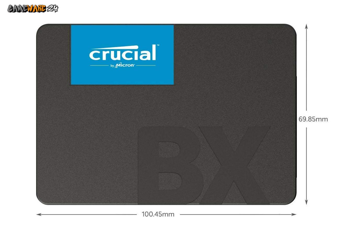 Crucial BX500 1TB SATA 2,5 Zoll SSD