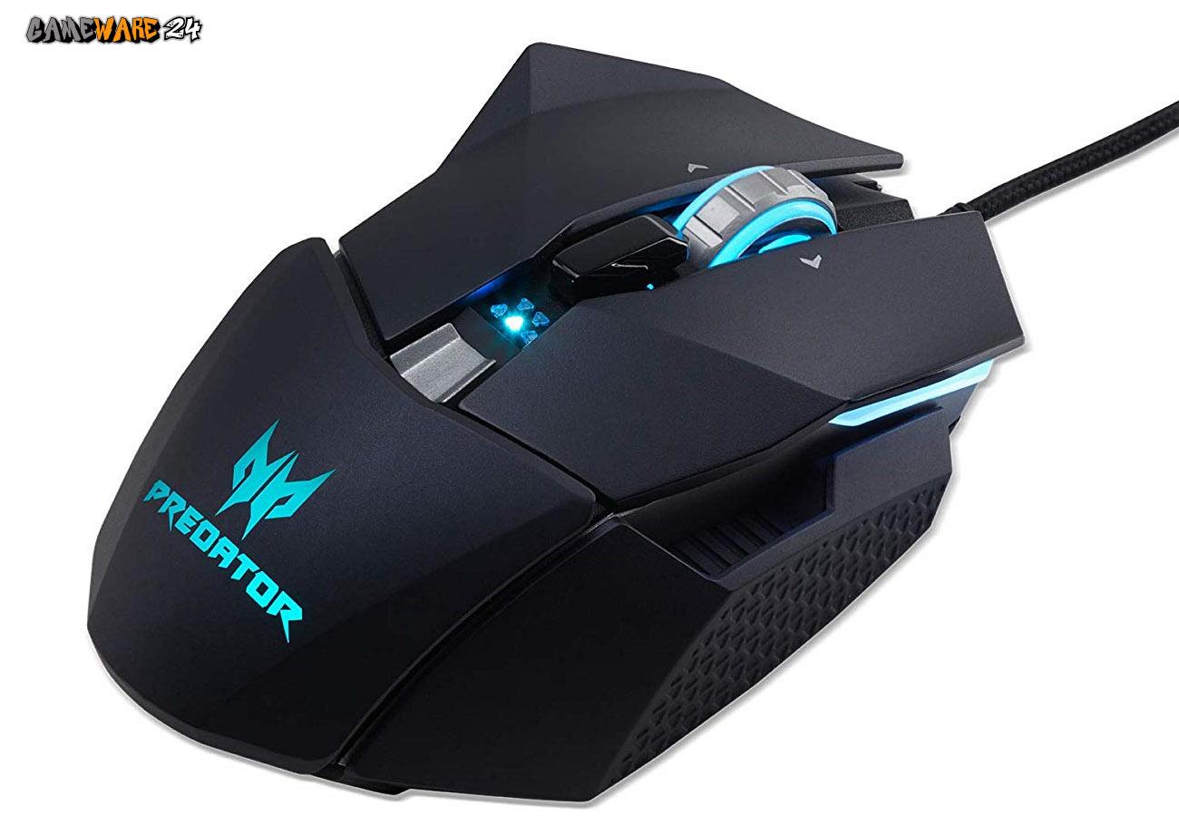 Die Predator Cestus 510 Gaming Mouse mit 16.000 DPI