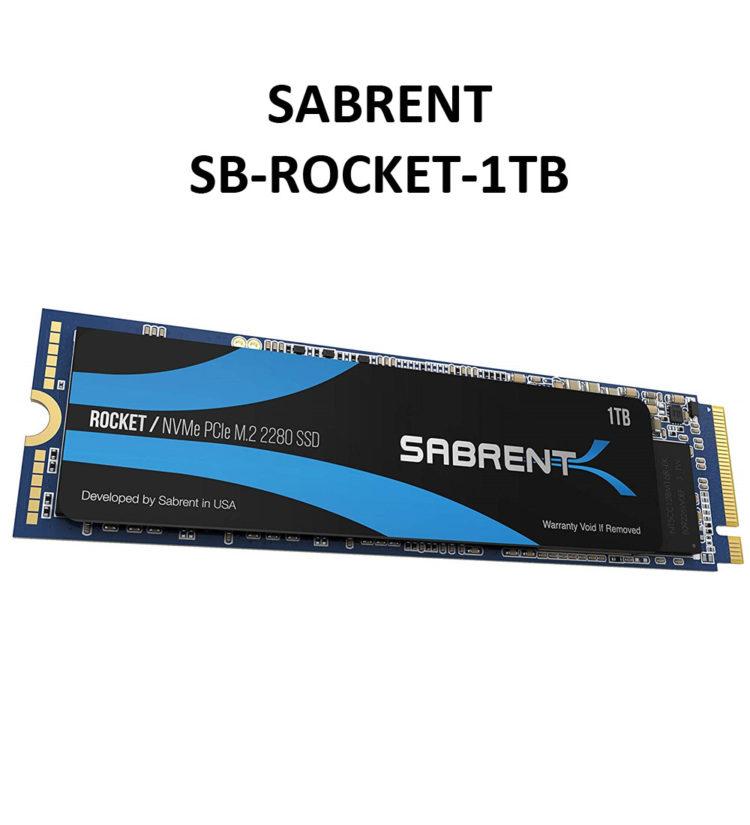 Sabrent 1 TB Rocket M.2 SSD (SB-ROCKET-1TB) im Test